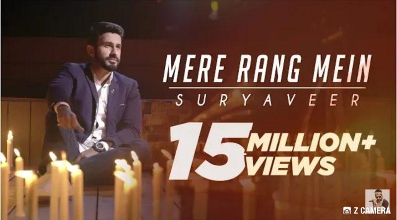 Delhi-based singer, Suryaveer Hooja's song cover Mere Rang Mein crosses 15 million views on YouTube