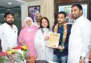 Late Filmmaker Sultan Ahmed's son Ali Abbas Sultan Ahmed become's All India Vice President of BJP's Nav Bhartiya Shiv Vahtuk Sanghatna
