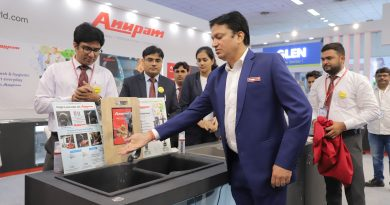 "Anupam Retail Limited, Ushers it's another eco-friendly & creative product ""Anupam Water Saving Nozzle"" which also supports the Prime Minister's ""SAVE WATER"" initiative."