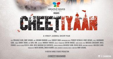 """Actor-director Vinay Jaiswal's 'Cheetiyan' heaping lots of praises. """