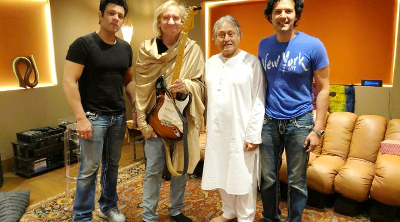 Amaan and Ayaan string along with the legendary Joe Walsh