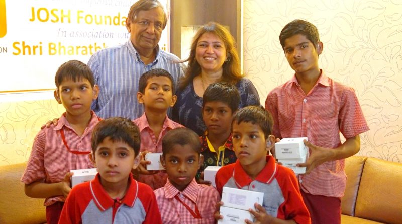 """Kid Sync"""" an initiative by JOSH foundation an NGO empowering hearing impaired children!"""