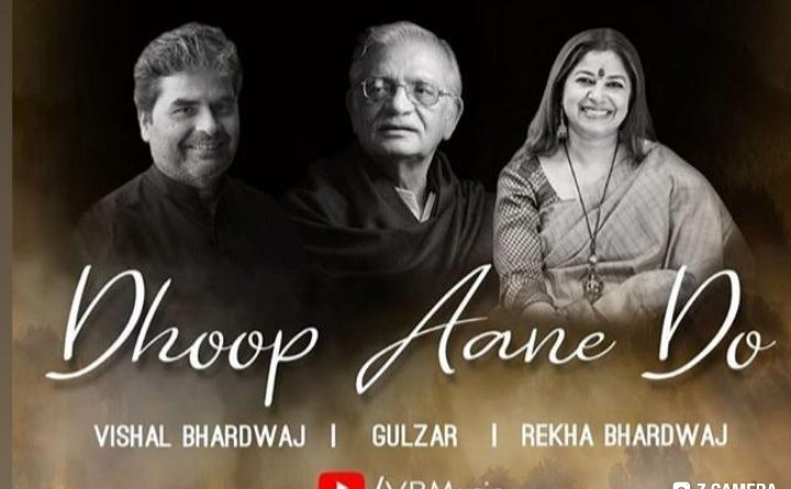 Vishal Bharadwaj embarks on a new journey as he releases his first single Dhoop Ane do by Gulzar